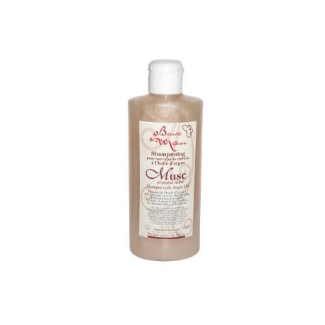 Shampoing huile d'argan et musc