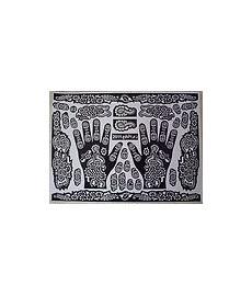 Pochoirs pour tatouages au henné