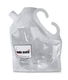 Poche à eau pour ablutions, WuduMate