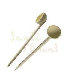 Cuillère à soupe artisanale en bois