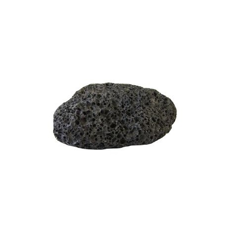Pierre ponce volcanique noire