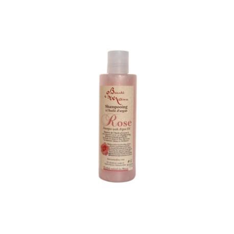 Shampoing huile d'argan et rose