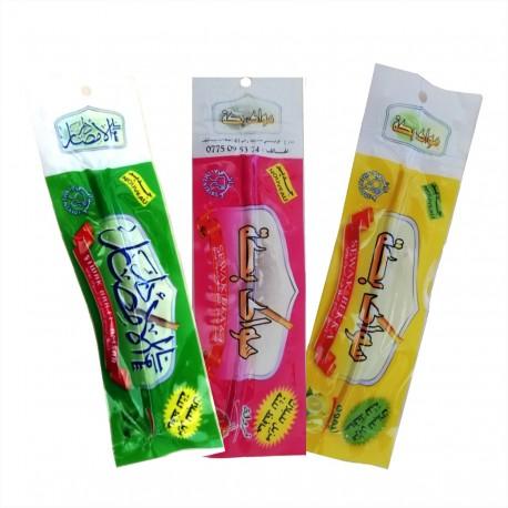 Pack 3 Siwak (Fraise, citron et menthe)